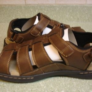 CROFT&BARROW GARY BROWN ORTHOLITE SANDAL